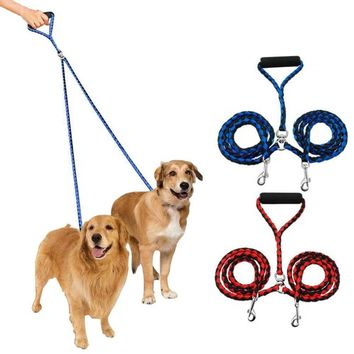 2 In One Universal Nylon Leash Rope Collar For Dogs And Cats