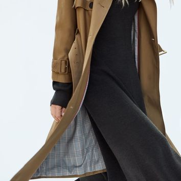 BELTED TRENCH COATDETAILS