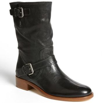 Miu Miu Double Buckle Short Boot