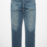 A Gold E Authentic Mens Slim Jeans Light Indigo  In Sizes