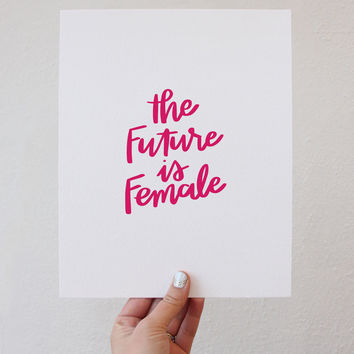 The Future is Female - Pink