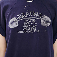 Vintage Orange Ave Gym Shirt - Urban Outfitters
