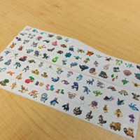 GENERATION 4 POKEMON PLANNER STICKER! PERFECT FOR YOUR ERIN CONDREN LIFE PLANNER,FILOFAX,PLUM PAPER & OTHER PLANNER OR SCARPBOOKING!
