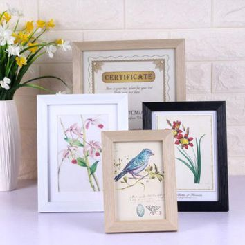 6*8/8*10 inch Picture Frame Photo Frame Poster Frame Wall Decor Black And White Home Room Decor