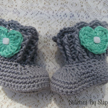 baby clothes crochet baby boots baby boots by stitchesbystephann