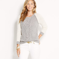 Hand Knit Bobble Sweater