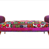 Vintage Furniture in Middle Eastern Fabrics by Bokja - Furniture - FURFIN