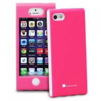 GreatShield FUSION Series Shock-Proof SLIM Case for Apple iPhone 5 (Pink)
