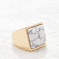 Faux Stone Cocktail Ring