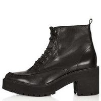 AKI Heavy Cleat Sole Boots - Boots  - Shoes