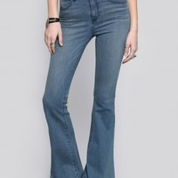 Sadie Bell Bottom Jeans - Vintage Wash - Bottoms - Clothes | GYPSY WARRIOR