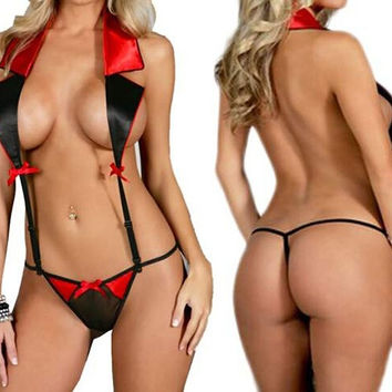 76971d835569 Sexy Hot Women Ladies Lingerie Nightwear Underwear Sleepwear Babydoll  G-String = 1932530884