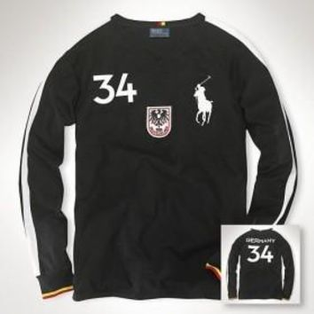 Beauty Ticks Ralph Lauren Polo Rugby Men Long Sleeve Tees Germany Rlmlt003