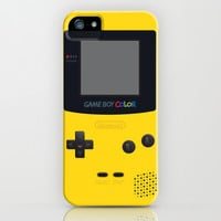 GAMEBOY COLOR - Yellow Version iPhone & iPod Case by Cedric S Touati