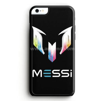 Lionel Messi Fc Barcelona Logo iPhone 6 Case  | Aneend.com