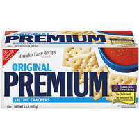 Walmart: Nabisco Premium Original Saltine Crackers, 16 oz