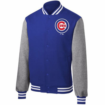 Chicago Cubs MENS 2016 World Series Champions Cardigan Sweatshirt Jacket