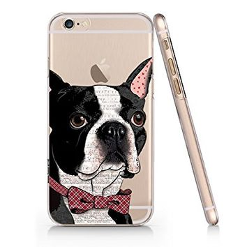 Cute Pug Dog Slim Iphone 6 6s Case, Clear Iphone Hard Cover Case For Apple Iphone 6 6s Emerishop (VAE275.6sl)