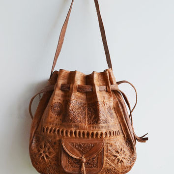 Dilly Bag Large- Tan