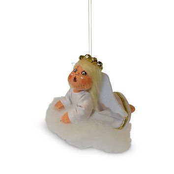 Annalee Dolls 3in 2018 Christmas Jinglebell Angel Ornament Plush New with Box