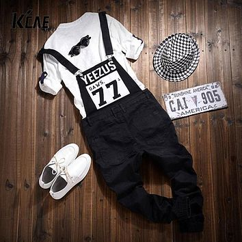 2016 NEW Brand Men Jumpsuit Casual Straight Cotton Pocket Overalls Trousers Mens Bib Pants Asia/Tag Size M-2XL
