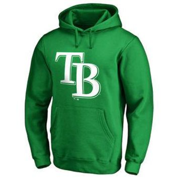 Tampa Bay Rays Nike MLB Green Fastball Fleece Pullover Hoodie