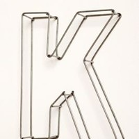 "UrbanOutfitters.com > Wire Frame 10"" Letters"