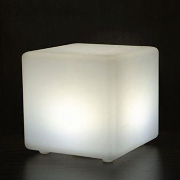 Multi-color LED Cube Seat Several Size Can Choose For Kids And Adults IP54 Used For Bedroom And Bathroom With Remote Control (23.623.623.6 inch)