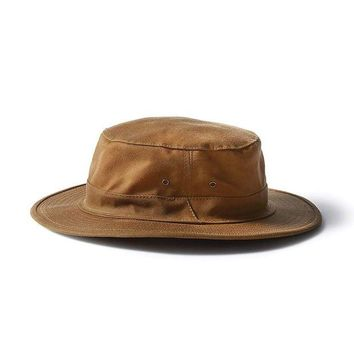 DCCKJG9 Filson Original Tin Cloth Hat