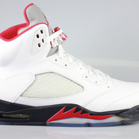 Air Jordan Men's Retro 5 V Fire Red 2013