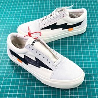 Off White X Revenge X Storm Pop Up Store White Black Shoes - Best Online Sale