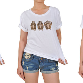 Women's Animal-1 Printed Cotton T-shirt WTS_12