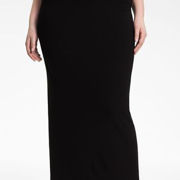 Plus Size Women's Eileen Fisher Jersey Maxi Skirt,