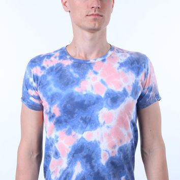 Acid Wash Shirt Tie Dye Summer Soft Grunge Galaxy Cloud