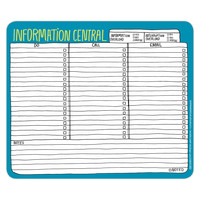 Hand-Lettered Information Central Paper Mousepad by Knock Knock