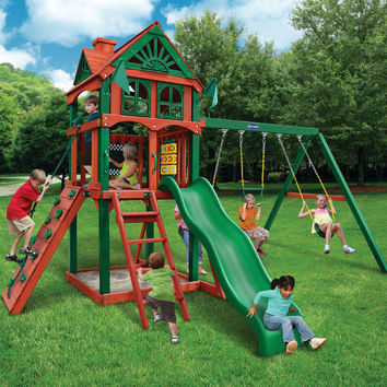 Playnation Redbrook Wooden Swing Set