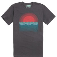 Reef Sol Tide T-Shirt - Mens Tee - Black