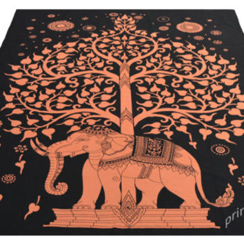 Elephant Under Tree Tapestry, Hippie Mandala Tapestries, Wall Tapestries, Tapestry Wall Hanging,Indian Tapestry,Bedspread Bohemian bed Sheet