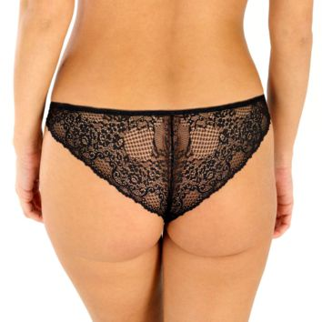 Sexy Lace Mesh Tanga Panty Rosme Angelic Threads