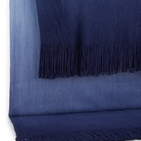 Spencer Navy/Blue Ombre Knit Throw - Bed & Bath | Stein Mart
