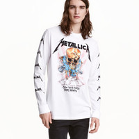 H&M Long-sleeved T-shirt $24.99
