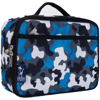Blue Camo Lunch Box - 33213