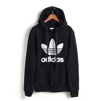 """Adidas"" Casual Fashion Unisex Letter Print  Cotton Sweatshirt Hoodie Sweater"