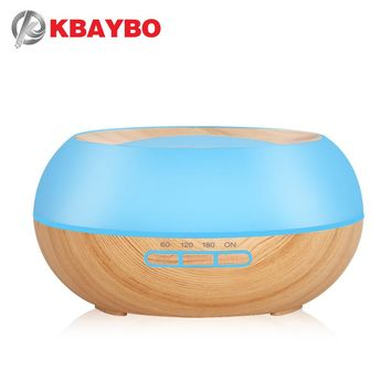 300ml Aroma Essential Oil Diffuser Ultrasonic Cool Mist Humidifier LED Night