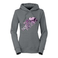 NEW The North Face Botanic Logo Pullover Hoodie for Ladies