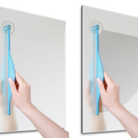 Bathroom Mirror Fog Wiper | Five Dollar Finds