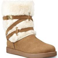 G by GUESS Shoes, Archy Faux-Fur Cold Weather Boots - Boots - Shoes - Macy's