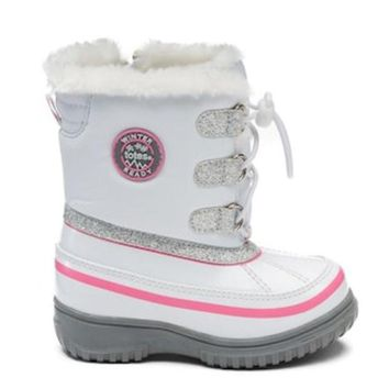 PEAPPL3 Totes Skye Toddler Girls' Waterproof Winter Boots | null
