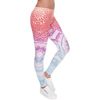 ACTIVEWEAR OMBRE LEGGINGS - PASTEL