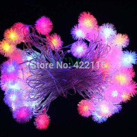 9.5m CHRISTMAS Lights Outdoor RGB Edelweiss LED STRING FAIRY LIGHTs for PARTY WEDDING BEDROOM  Decoration Luces Led Decoracion